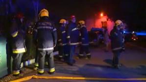 Incêndio na cadeia de Coimbra