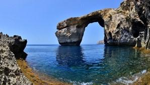 "Famosa ""Janela Azul"" de Malta colapsou"