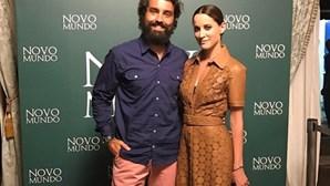 Maria João Bastos e Ricardo Pereira juntos