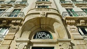O infame luxo do 1908 Lisboa Hotel