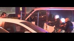 Homem morto pela polícia após operação stop