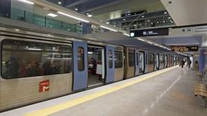 Metro de Lisboa com perturbações de circulação esta quarta-feira