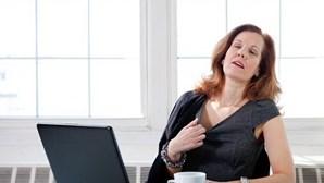 Menopausa. Fragilidade dos ossos por falta de estrogénios