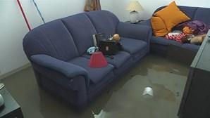 Famílias desalojadas devido ao mau tempo em Oeiras