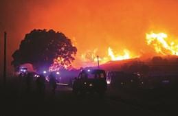 Combate ao incêndio na serra de Monchique envolveu cerca de 1700 bombeiros, 200 militares e centenas de meios