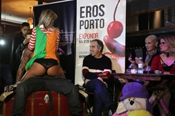 Apresentação decorreu no café Lusitano no Porto