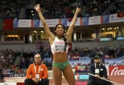 Patrícia Mamona, Susana Costa, Paraskevi Papahristou, Europa, desporto, atletismo