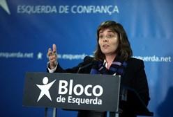 Catarina Martins, líder do Bloco de Esquerda
