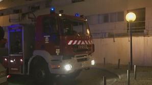 Incêndio em prédio de Marvila