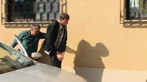 Raptor foi preso pela Polícia Judiciária , em Vagos, e foi ouvido, durante  a tarde, nas instalações da PJ de Braga