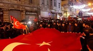 Protestos na Holanda e na Turquia