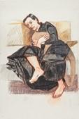Um dos quadros que vão ser exibidos na galeria Marlborough