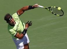 Djokovic, Nadal e Federer ganharam facilmente os seus jogos em Indian Wells