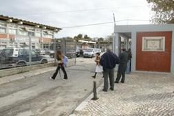 A Escola do 2º e 3ª Ciclo Álvaro Velho, no Lavradio
