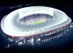 Um esboço de como vai ficar o estádio depois das obras