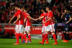 As melhores imagens do Benfica-Belenenses