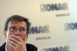 O presidente executivo da Sonae, Paulo Azevedo
