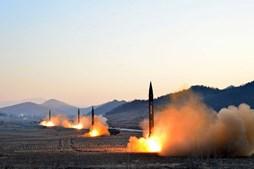 Coreia do Norte fracassa novo teste de míssil
