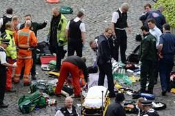 Ministro britânico tentou salvar polícia esfaqueado