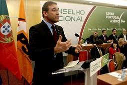 Pedro Passos Coelho, líder do PSD