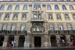 Fachada da sede Caixa Económica Montepio Geral, em Lisboa