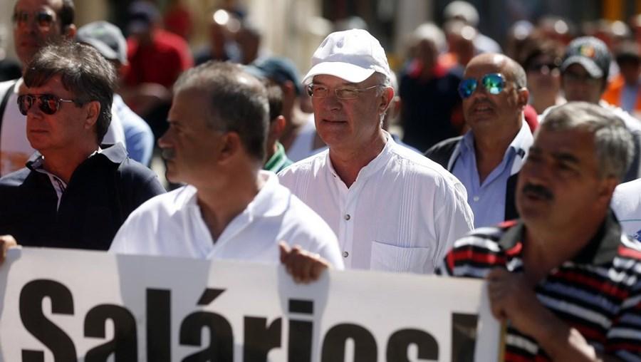 Uma das manifestações que aconteceram em 2016 contra a precaridade laboral e baixos salários