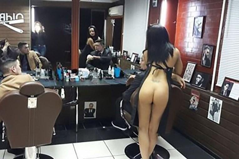Strippers foram recrutadas para cortar cabelo aos clientes da Old Boy