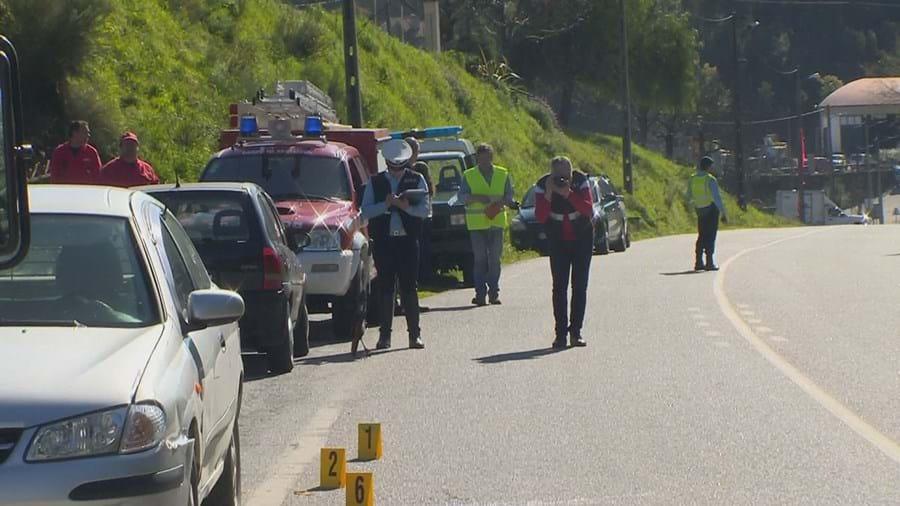 Acidente ocorreu na EN 228 em Muna