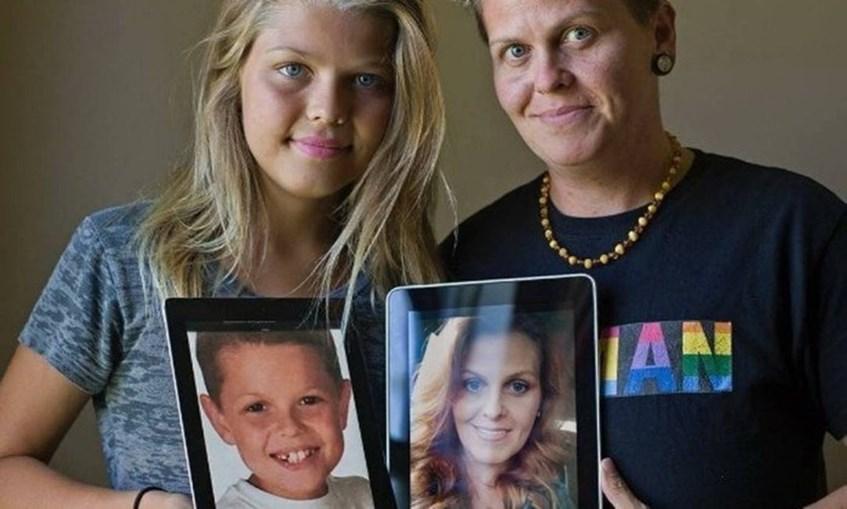 Corey e Eric já foram filho e mãe