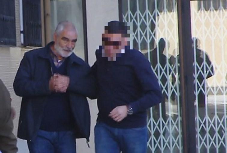 Adelino Briote à saída do Tribunal de Braga