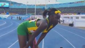 Com 12 anos Brianna Lyston já é caso sério no atletismo