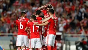 Benfica 'sua' para chegar à final da Taça de Portugal