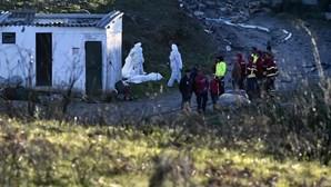 Buscas pelas vítimas de explosões em Lamego