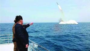 Japão diz que Coreia do Norte pode lançar míssil com gás sarin