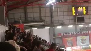Benfica volta a repudiar cânticos dos adeptos sobre 'very light'