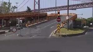 Viaduto de Alcântara encerrado até meados de maio