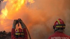 Incêndio em Pataias em resolução