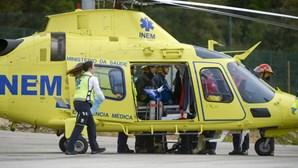 Quatro helicópteros do INEM para emergência médica pré-hospitalar no verão