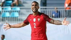 Portugal goleia na estreia no Mundial de futebol de praia