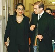 Laura Ferreira e Passos Coelho