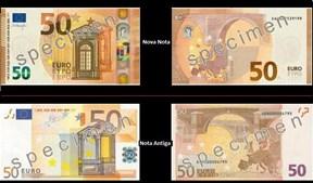 As diferenças entre a nova e a antiga nota