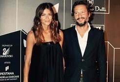 Luísa Beirão com o ex-marido, Ricardo Simões