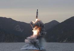 Nos últimos meses, têm-se sucedidos os lançamentos de mísseis por parte da Coreia do Norte