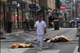 Atentado em Estocolmo fez quatro mortos e 15 feridos