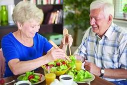 Uma alimentação saudável, que inclua frutas, legumes e vegetais, ajuda a evitar a doença ou a travar a sua evolução, em especial nas pessoas seniores