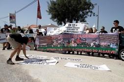 Marcha lenta de protesto contra portagens causa constrangimentos na EN125
