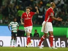 Alguns dos principais momentos do Sporting-Benfica deste sábado