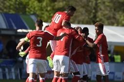 As imagens do Benfica - RB Salzburgo, na final da UEFA Youth League