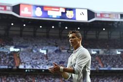 Cristiano Ronaldo fez madeixas louras