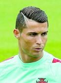 Cristiano Ronaldo gosta de alterar penteados
